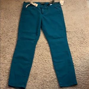 Turquoise Lucky Charlie Skinny Jeans NWT
